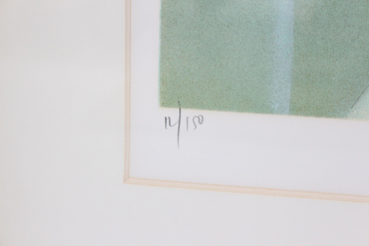 |【行董】ジャン・バティスト・バラディエ 裸婦 リトグラフ 人物画 額装品 サイン有り 女性像 CE…