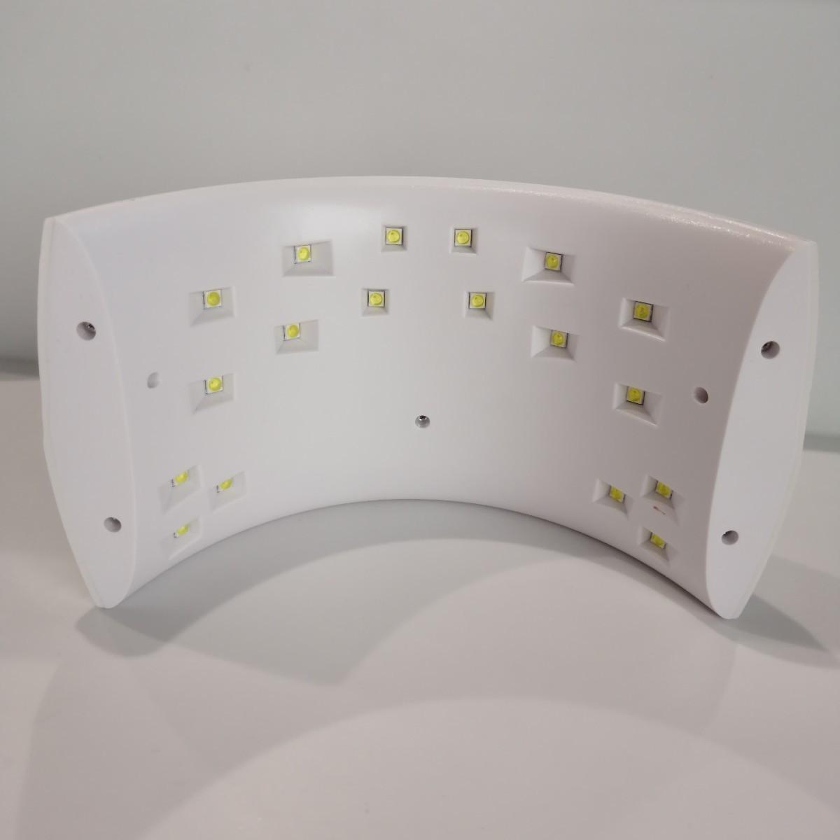 LED ジェルネイル ライト 36W UV ネイルドライヤー セルフ レジン硬化