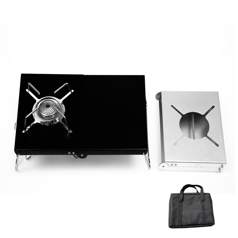 遮熱テーブル ST-310 対応 イワタニ シングルバーナー 折り畳み シルバー