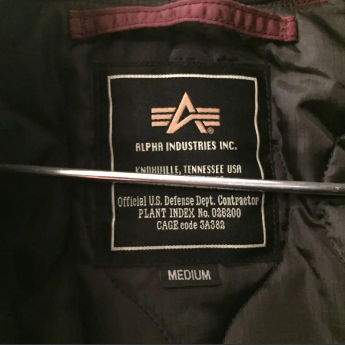 MA-1 alpha×アダムエロペ フライトジャケット ブルゾン アルファ
