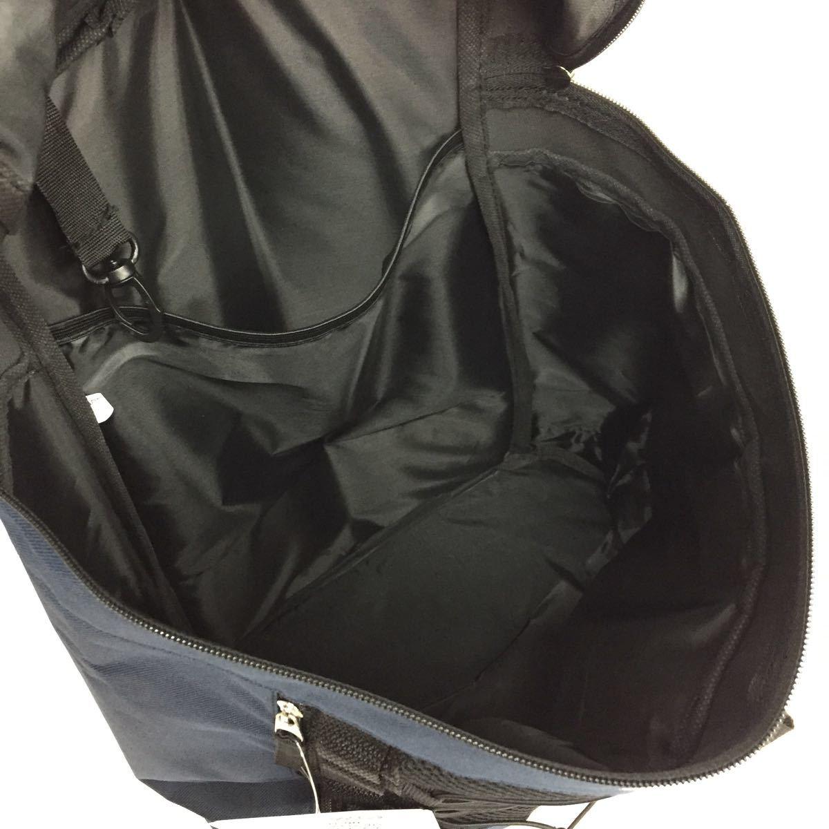 新品 大容量 リュック メンズ レディース リュックサック バックパック 防災リュック 防災バッグ 旅行 防災 ネイビー