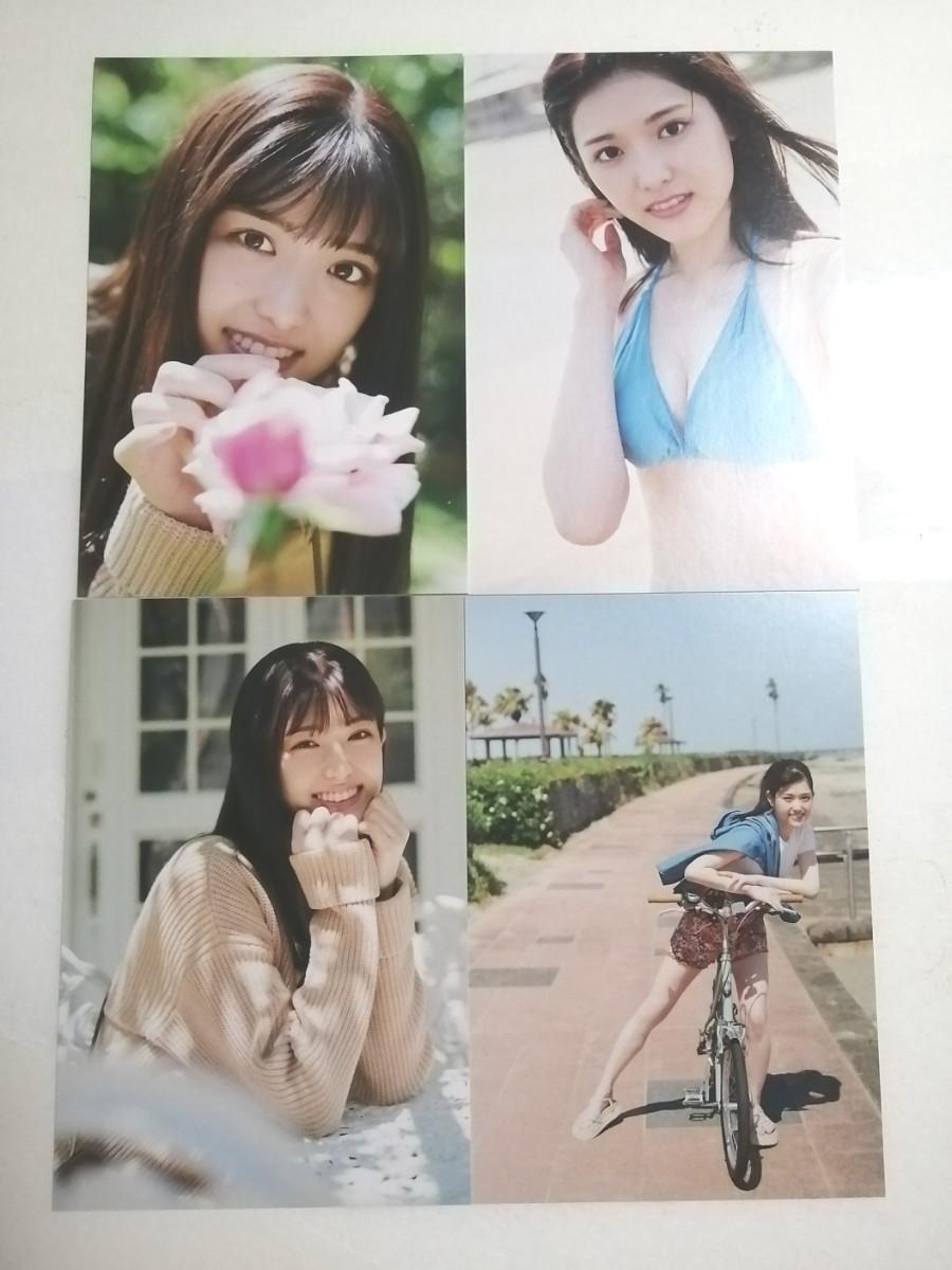 乃木坂46 松村沙友理 写真集 次、いつ会える?ポストカード 4枚