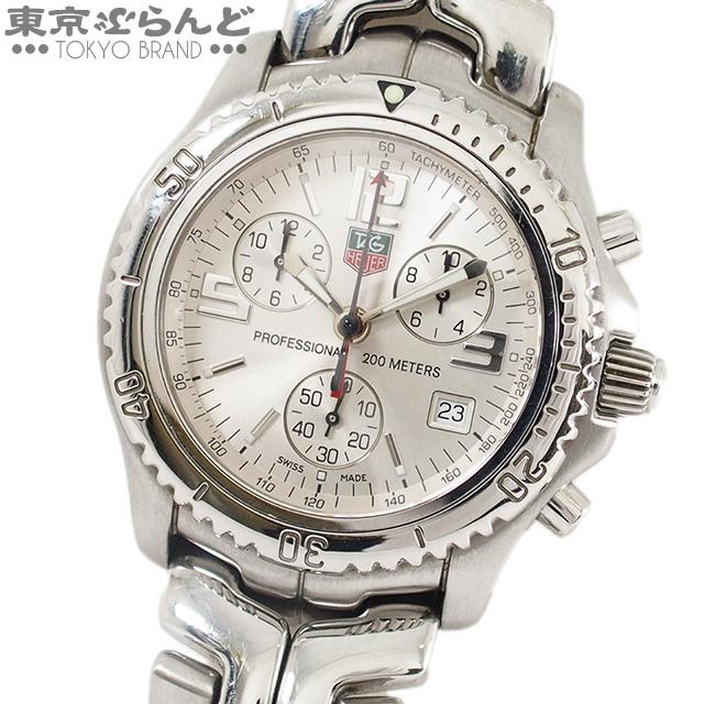 241001004253 1円~ タグホイヤー TAG Heuer リンク クロノグラフ 腕時計 CT1112 メンズ