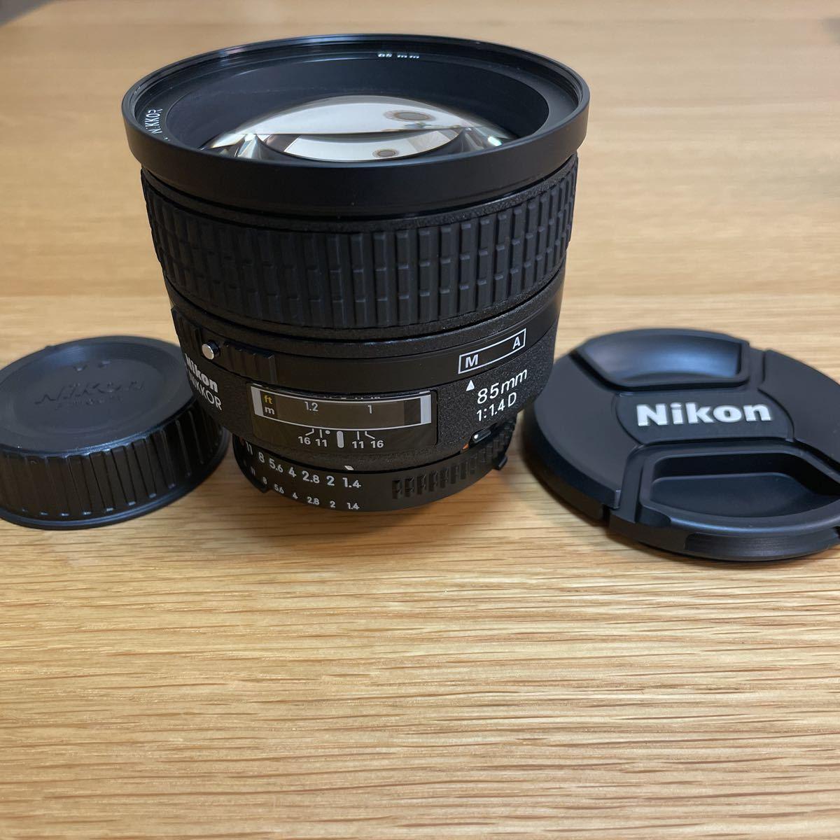 ニコン Nikon AI AF Nikkor 85mm f/1.4D【美品】