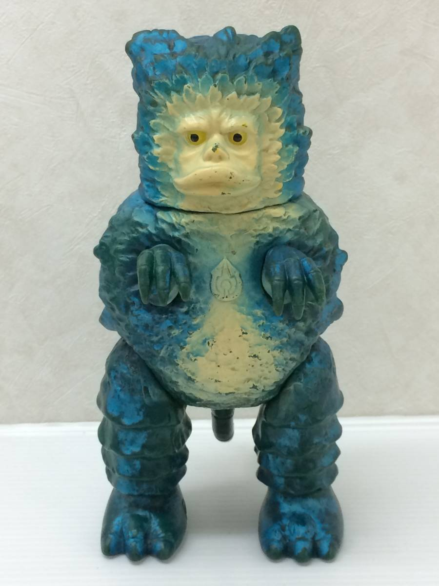 ◆マルサン ウルトラQ 怪獣 ガラモン 2期 ソフビ人形 中古品 syztoy035150