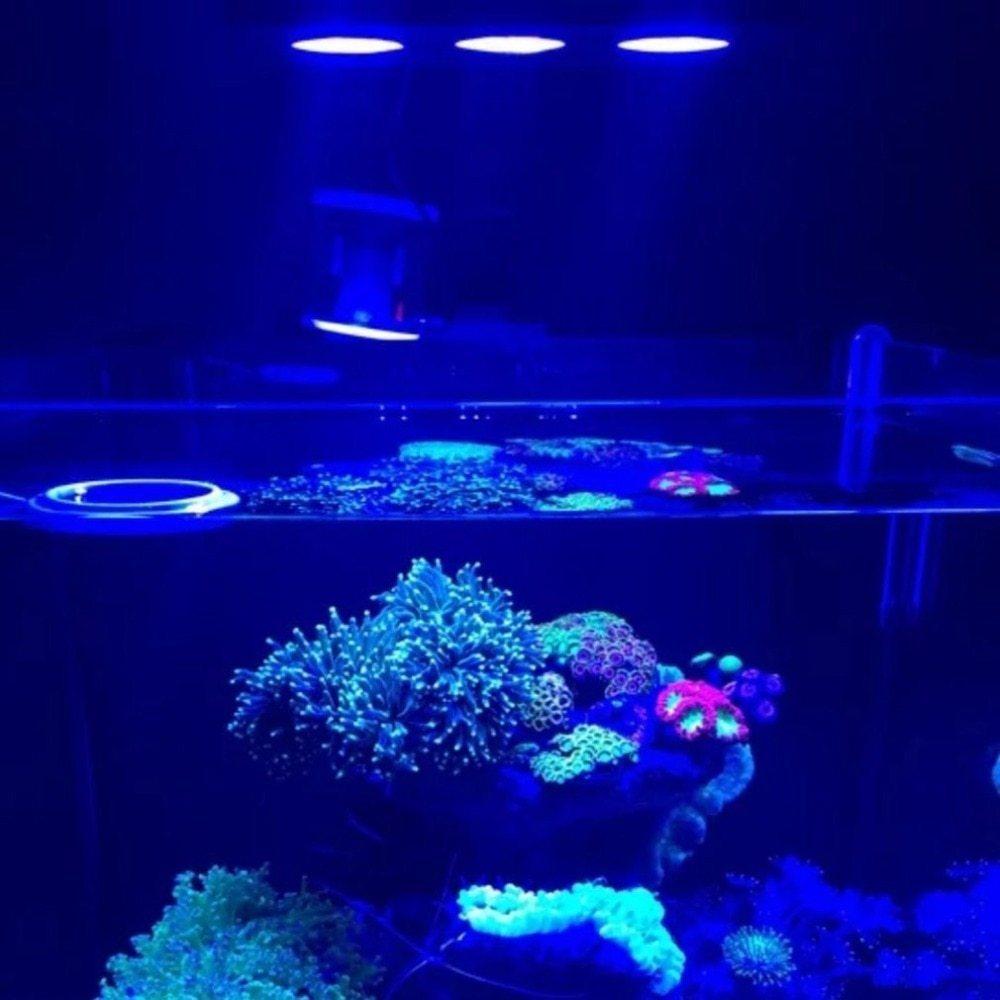 [METIS] LED 水槽ライト アクアリウムライト 海水魚 サンゴ 海水槽 照明 調光 LED3個 高光度 長寿命 強力 水族館 組立簡単_画像2