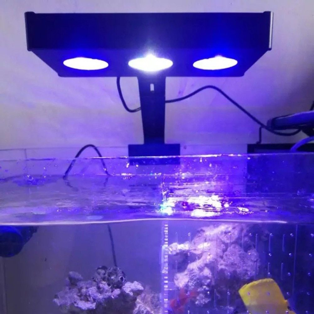 [METIS] LED 水槽ライト アクアリウムライト 海水魚 サンゴ 海水槽 照明 調光 LED3個 高光度 長寿命 強力 水族館 組立簡単_画像4