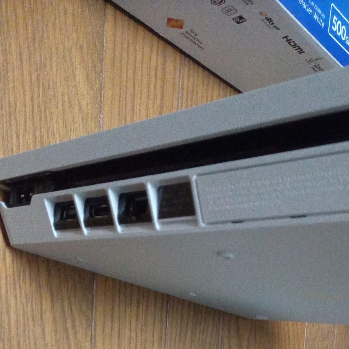 PlayStation4 グレイシャー・ホワイト 500GB CUH-2200AB02 完品+ 別売コントローラー