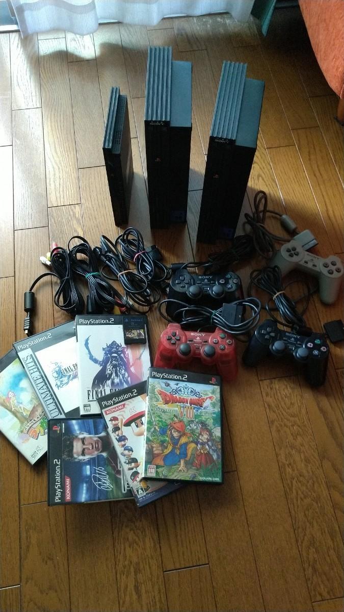SONY PS2 プレイステーション プレステ2 ゲーム ソフト セット