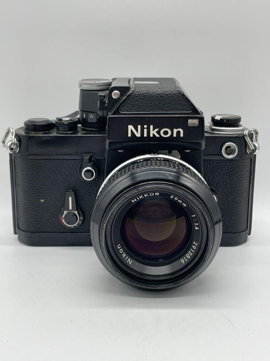 Nikon ニコン F2 フォトミック ブラックボディ フィルムカメラ NIKKOR 50mm F1.4 レンズ