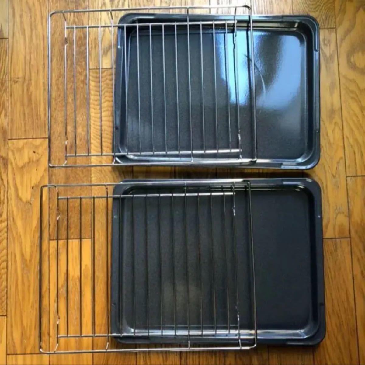 オーブンレンジ 天板2セット(1セットは未使用品)
