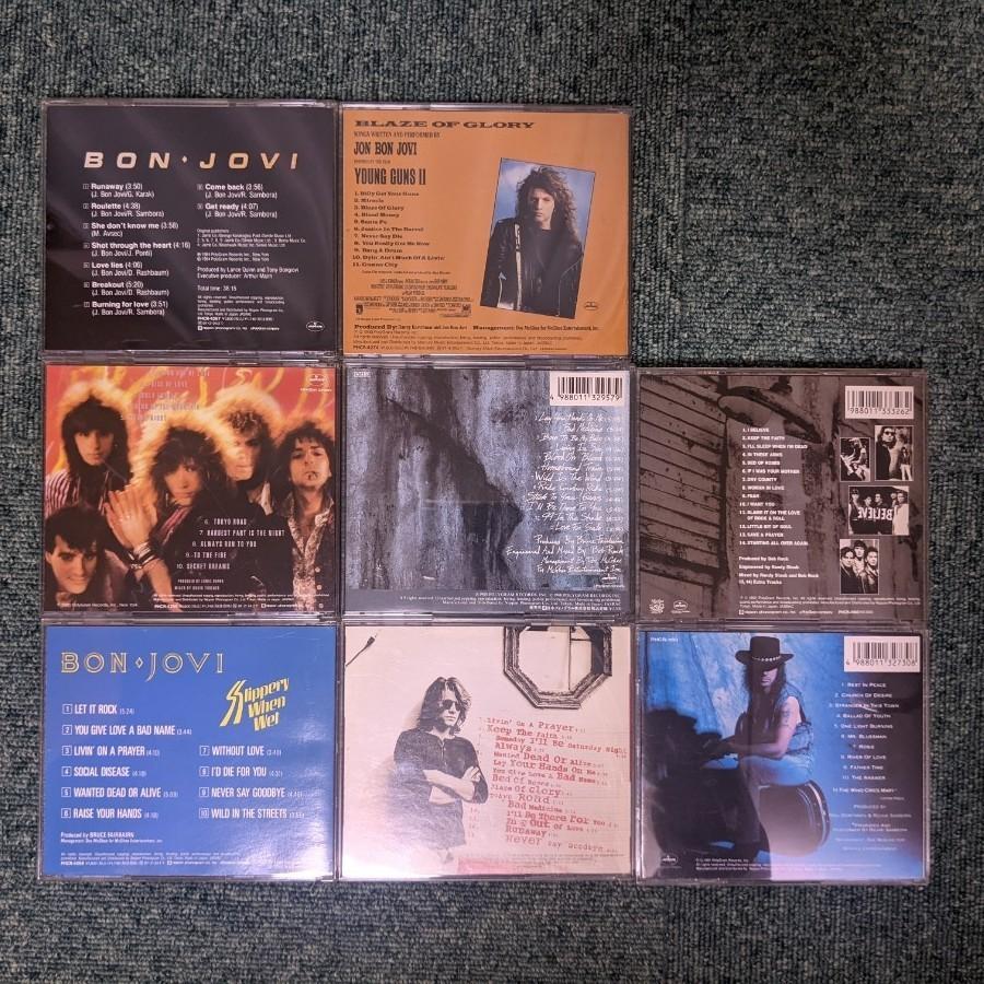 Bon Jovi ボン・ジョヴィ CD 7枚 リッチー・サンボラ CD 1枚 まとめて