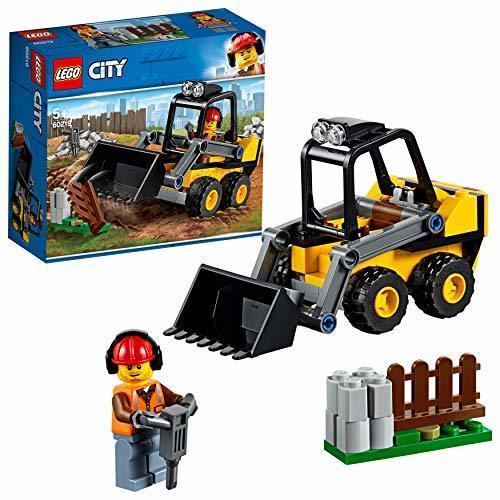 レゴ(LEGO) シティ 工事現場のシャベルカー 60219 ブロック おもちゃ 男の子 車_画像1