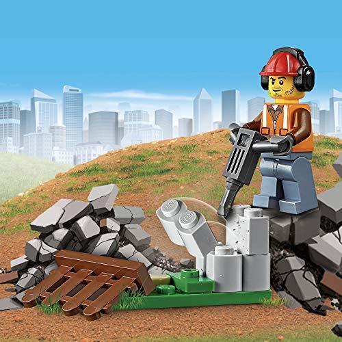 レゴ(LEGO) シティ 工事現場のシャベルカー 60219 ブロック おもちゃ 男の子 車_画像5