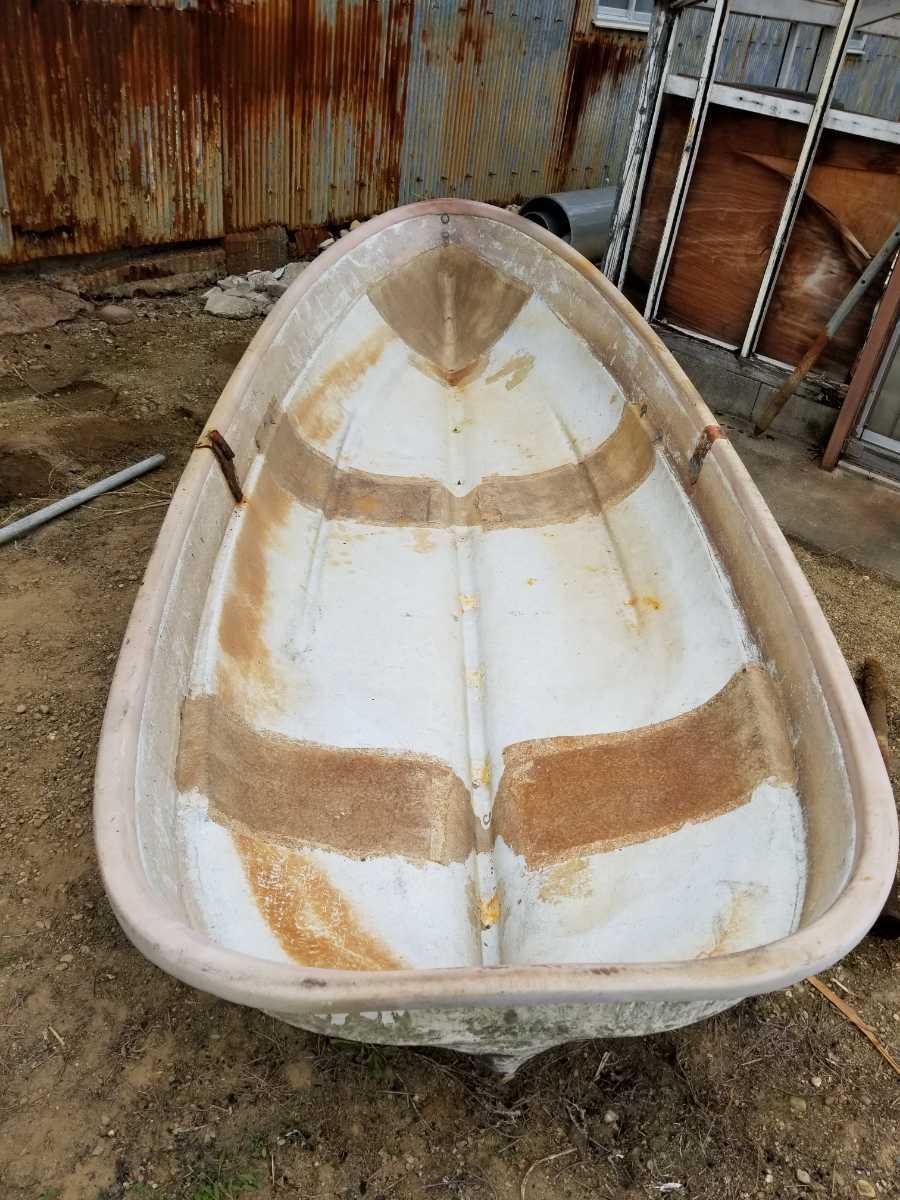 「経年保管中古品★ 小舟 船 ボート 手渡し」の画像2