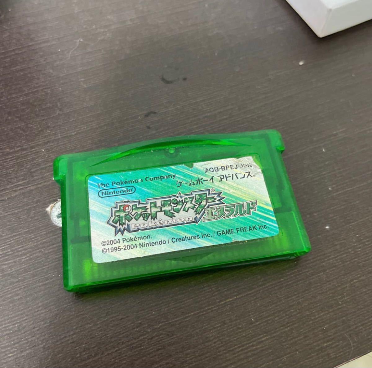 GBA ポケットモンスターエメラルド ソフト