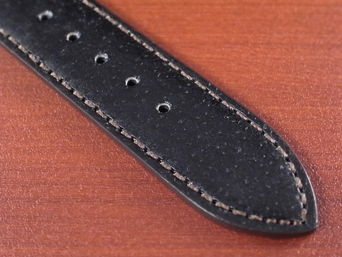 CBJP-001a アキュレイトフォルム ピッグ革ベルト 黒 レギュラー 14mm、15mm、16mm、17mm、18mm、19mm、20mm_画像5
