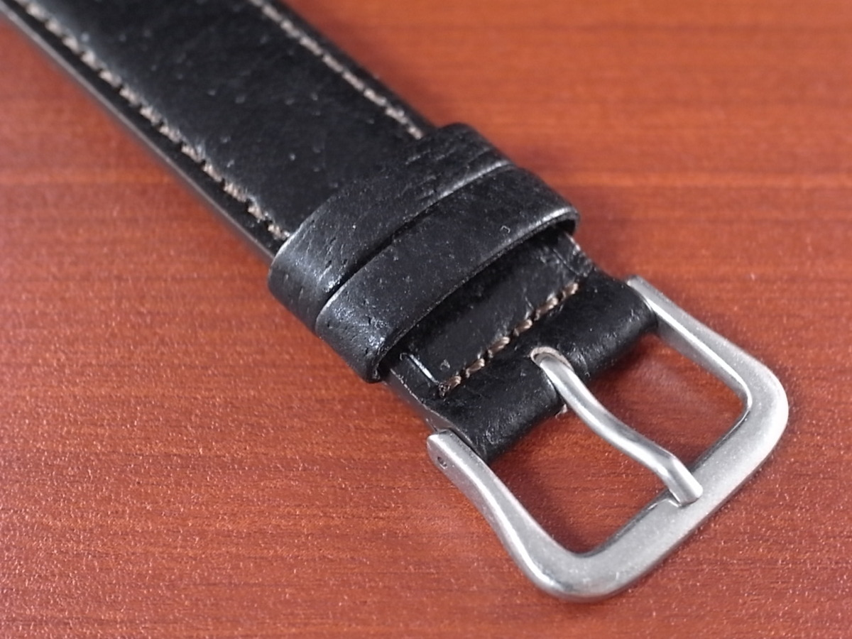 CBJP-001a アキュレイトフォルム ピッグ革ベルト 黒 レギュラー 14mm、15mm、16mm、17mm、18mm、19mm、20mm_画像3