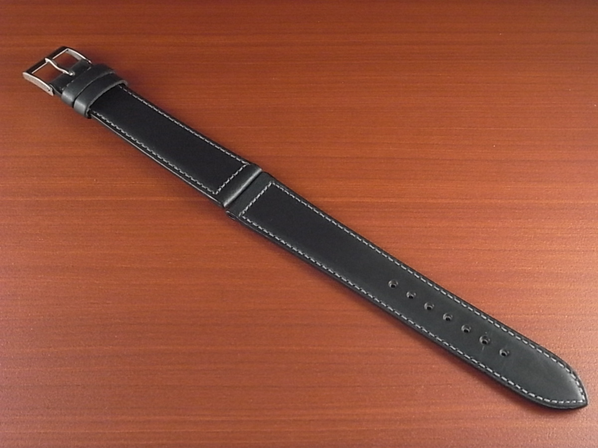 CBH-A024a アキュレイトフォルム ホーウィン クロムエクセル革ベルト レギュラー ネイビー 16mm、17mm、19mm、20mm_画像1