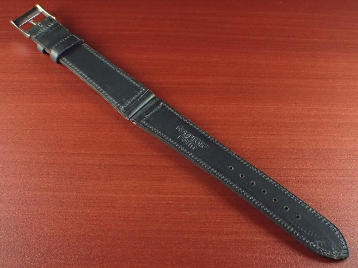 CBH-A024a アキュレイトフォルム ホーウィン クロムエクセル革ベルト レギュラー ネイビー 16mm、17mm、19mm、20mm_画像2