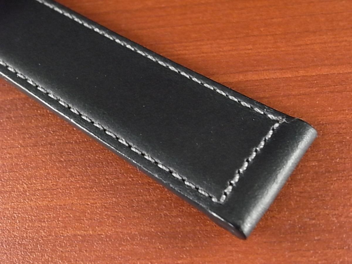 CBH-A024a アキュレイトフォルム ホーウィン クロムエクセル革ベルト レギュラー ネイビー 16mm、17mm、19mm、20mm_画像5