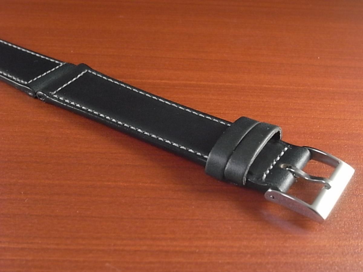 CBH-A024a アキュレイトフォルム ホーウィン クロムエクセル革ベルト レギュラー ネイビー 16mm、17mm、19mm、20mm_画像6