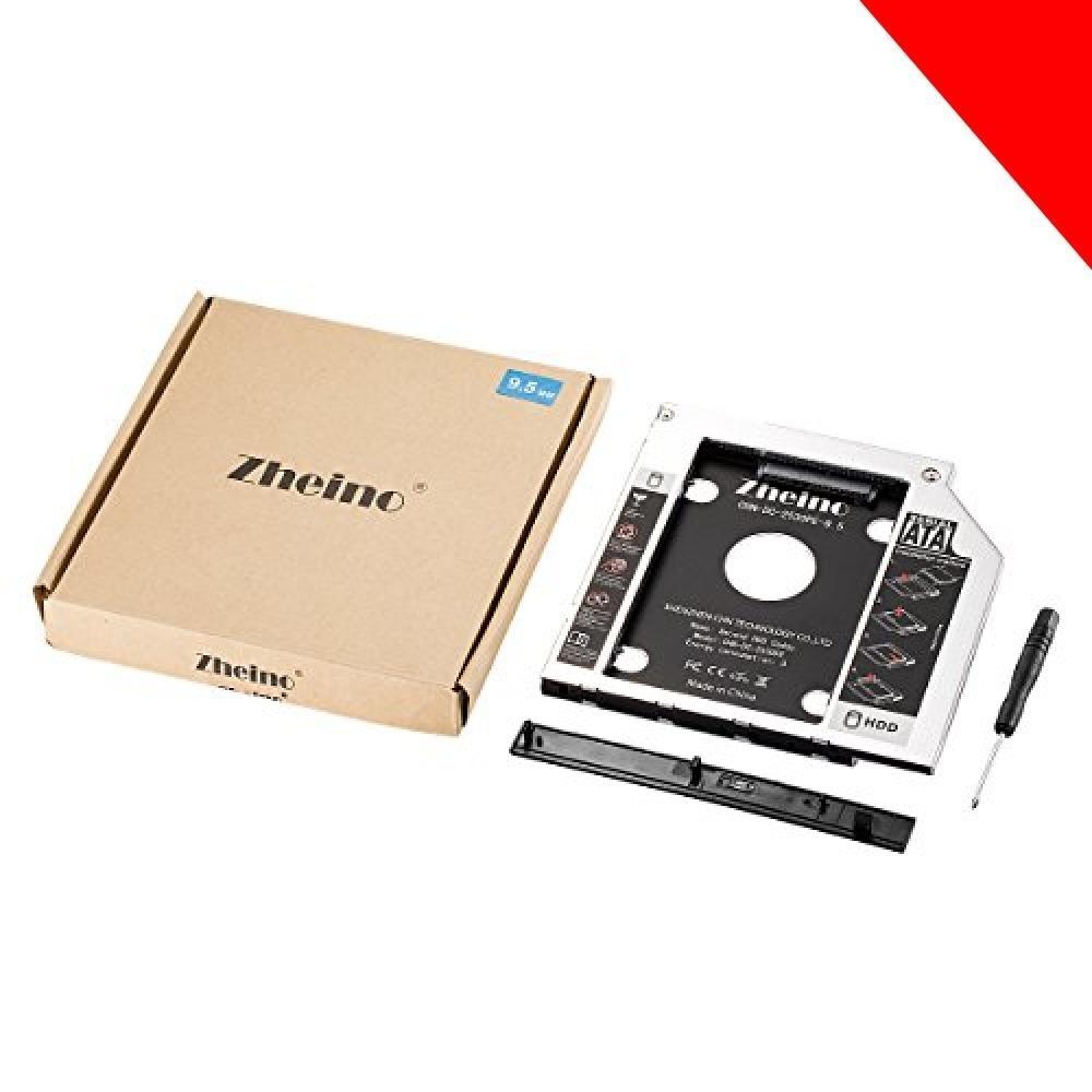 ★CHN-DC-2530PE-9.5 Zheino 2nd 9.5mmノートPCドライブマウンタ セカンド 光学ドライブベイ用 _画像4
