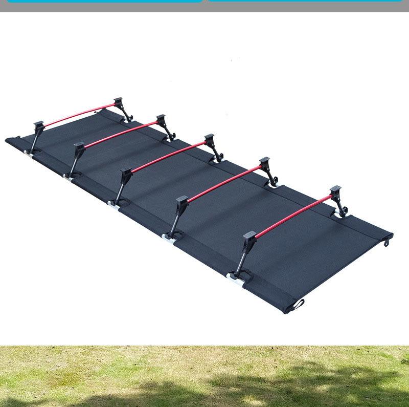 アウトドア フォールディング キャンプ ベッド 折りたたみベッド 簡易ベット アウトドアローコット