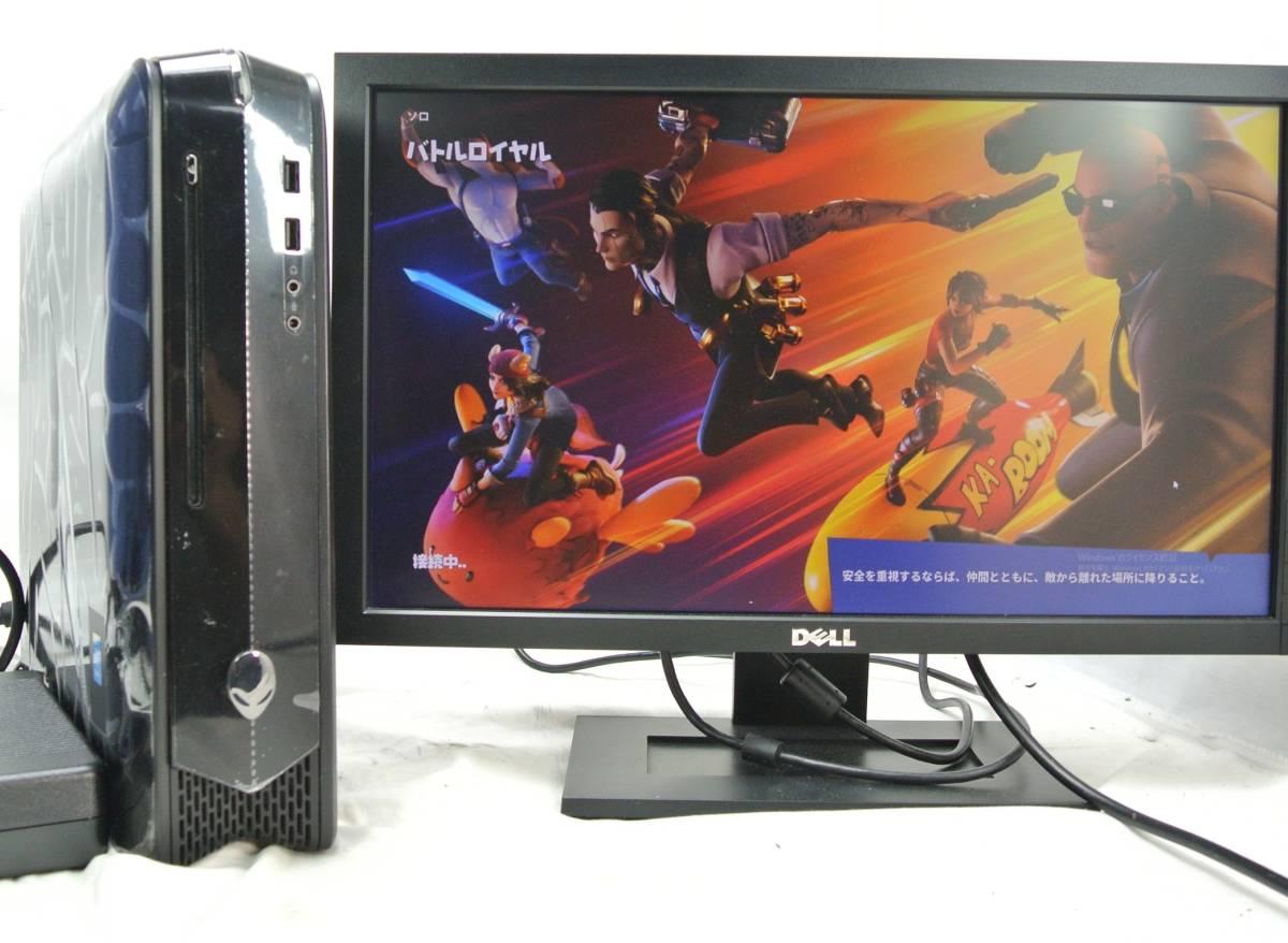 高級ゲーミングPC DELL ALIENWARE X51 R2/i7-4790K GTX750 Fortnite/SSD480G/Office2019/Fortnite/PCゲーム・動画映像編集、フォートナイト_モニターは付属してません。