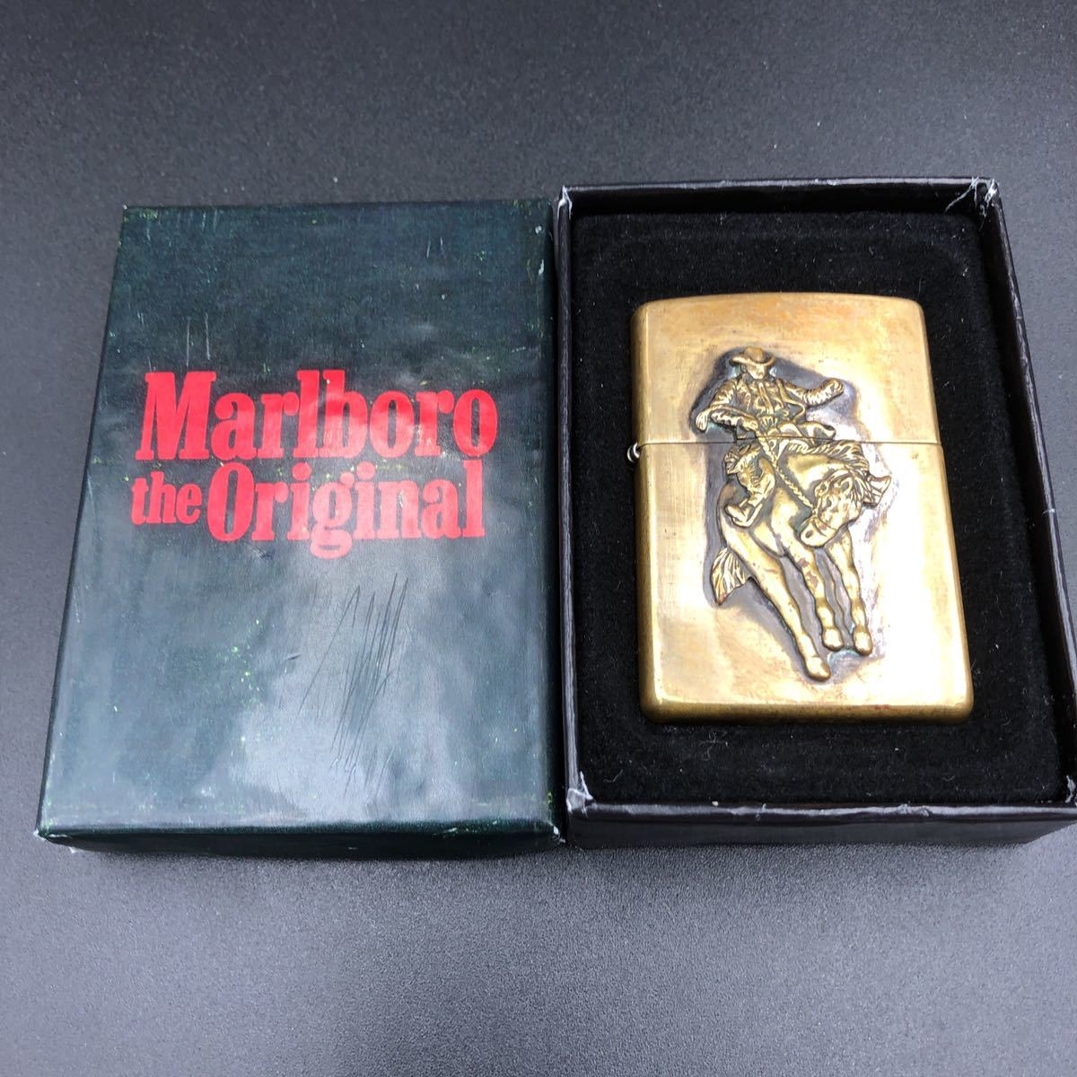 1999年 マルボロ Marlboro 限定品 懸賞品 ロデオ 箱付き ZIPPO ジッポー