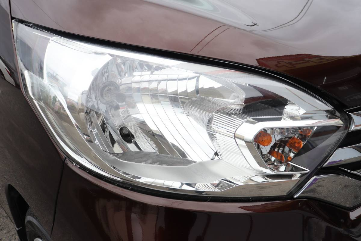 乗出し価格!! 車検2年付 デイズルークス 26年式 11.0万km 修復歴無し スマートキー レーダーブレーキ 全国名変無料 諸費用コミコミ!_ヘッドライトスチーマー施工済みです