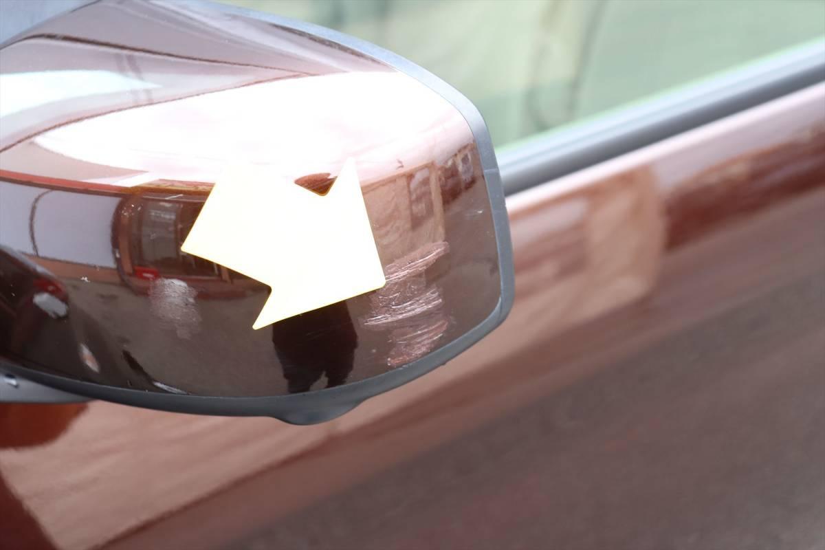乗出し価格!! 車検2年付 デイズルークス 26年式 11.0万km 修復歴無し スマートキー レーダーブレーキ 全国名変無料 諸費用コミコミ!_左サイドミラーにキズがあります