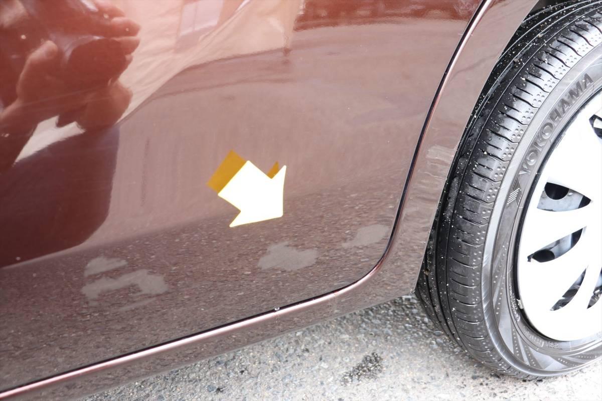 乗出し価格!! 車検2年付 デイズルークス 26年式 11.0万km 修復歴無し スマートキー レーダーブレーキ 全国名変無料 諸費用コミコミ!_左リアドアにタッチペン跡があります