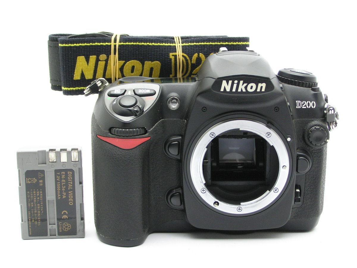 ★ハローカメラ★1183 Nikon D200 Body 動作品ジャンク 要清掃 要修理 1円スタ-ト 即決あり