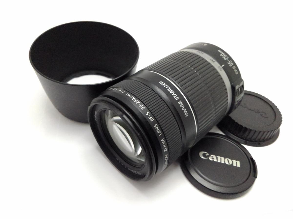 ★ハローカメラ★1433 Canon EF-s 55-250mm F4-5.6 IS USM 動作品、現状 1円スタ-ト
