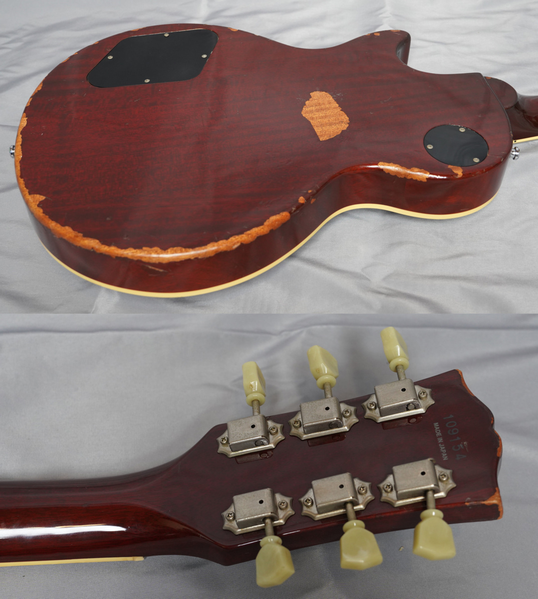 ★Epiphone Japan★Les Paul Standard LPS-80 HB MADE IN JAPAN 日本製 ヘヴィーレリック調 レスポール スタンダード エピフォン★_画像3