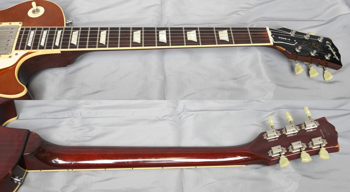 ★Epiphone Japan★Les Paul Standard LPS-80 HB MADE IN JAPAN 日本製 ヘヴィーレリック調 レスポール スタンダード エピフォン★_画像4