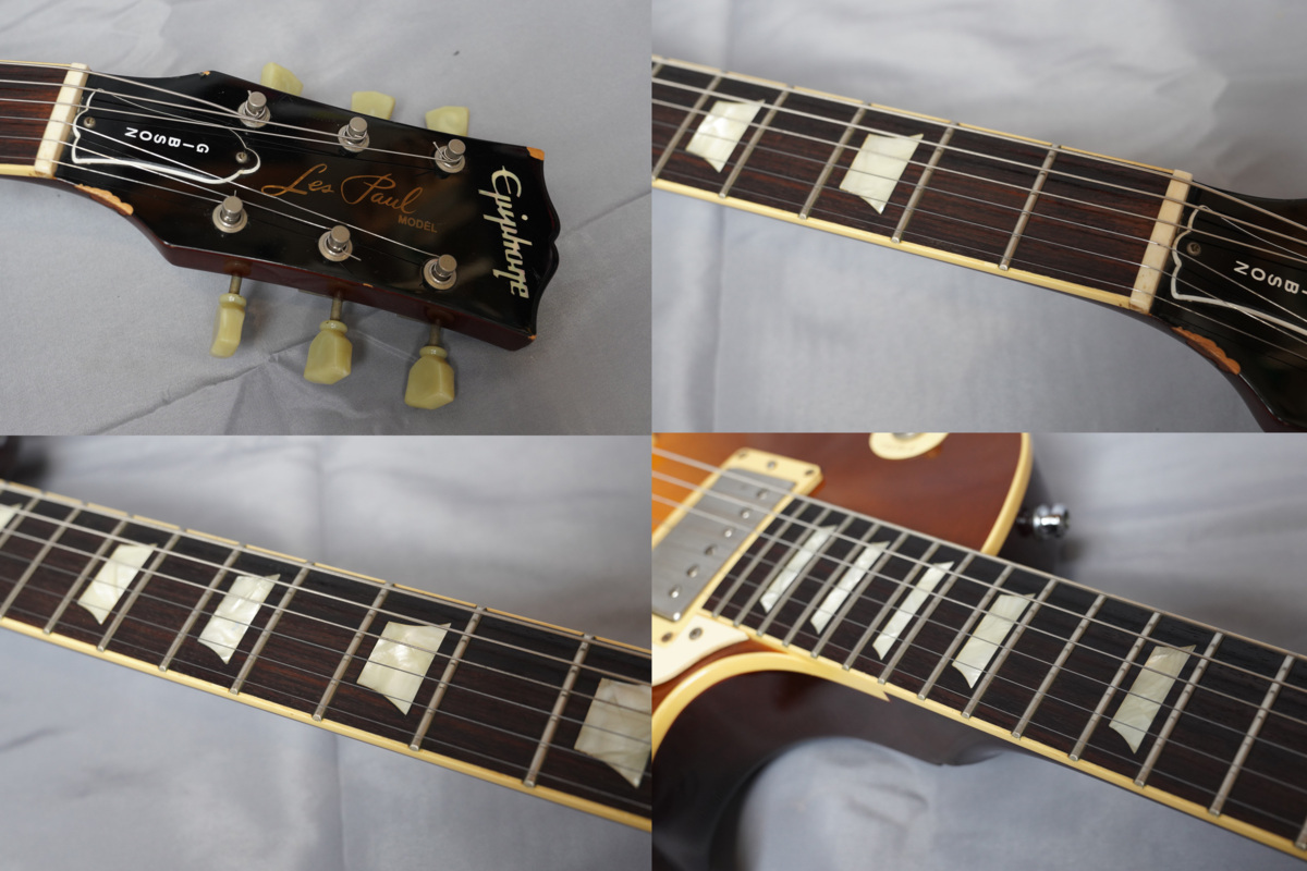 ★Epiphone Japan★Les Paul Standard LPS-80 HB MADE IN JAPAN 日本製 ヘヴィーレリック調 レスポール スタンダード エピフォン★_画像7