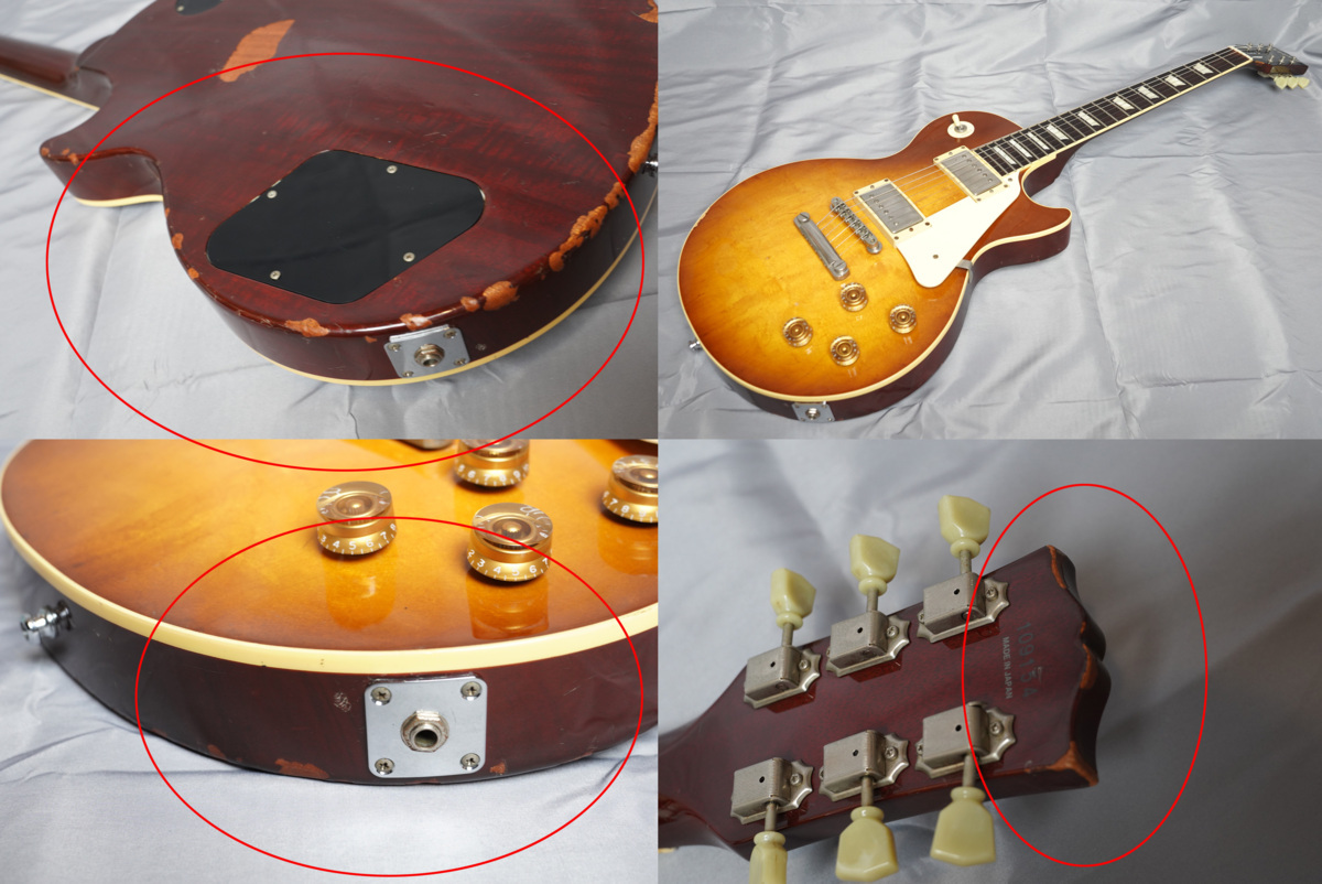 ★Epiphone Japan★Les Paul Standard LPS-80 HB MADE IN JAPAN 日本製 ヘヴィーレリック調 レスポール スタンダード エピフォン★_画像5