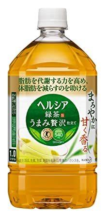540ミリリットル (x 24) [トクホ] [訳あり(メーカー過剰在庫)] ヘルシア緑茶 うまみ贅沢仕立て 1L &times_画像2