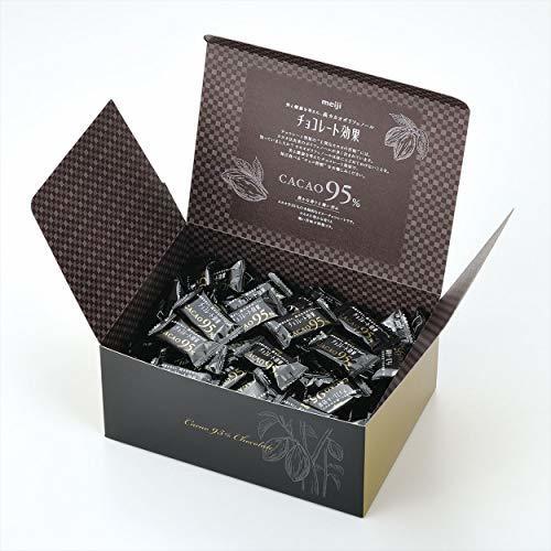 800グラム(x 1) 明治 チョコレート効果カカオ95%大容量ボックス 800g_画像3