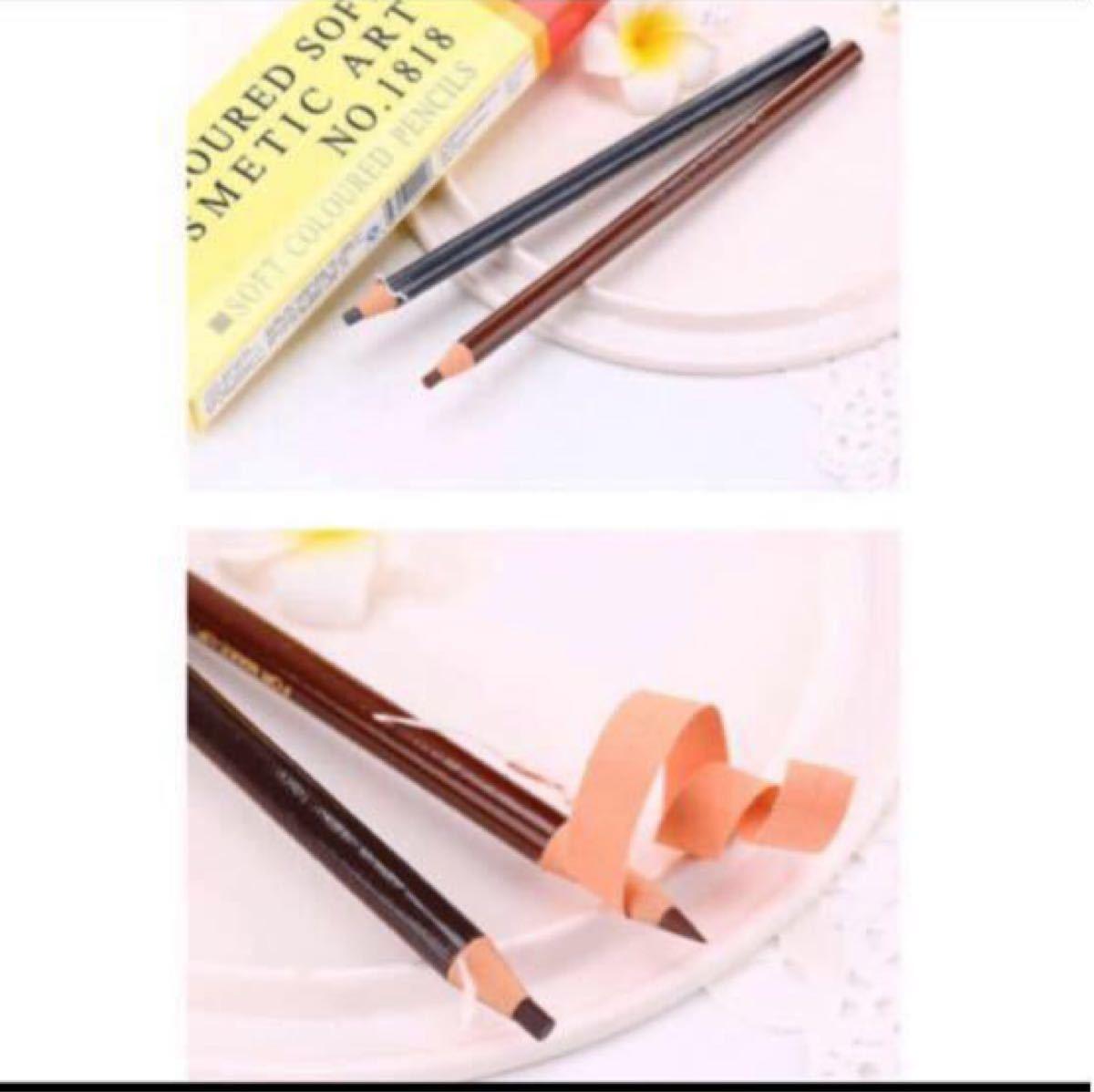 アイブロウ 紙巻きペン 5本セット