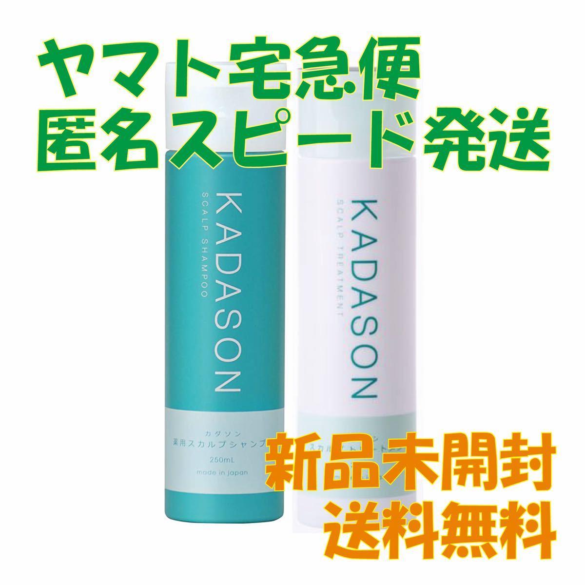 ★新品★KADASON スカルプシャンプー&トリートメント 250ml カダソン セット カダソンスカルプシャンプー 薬用