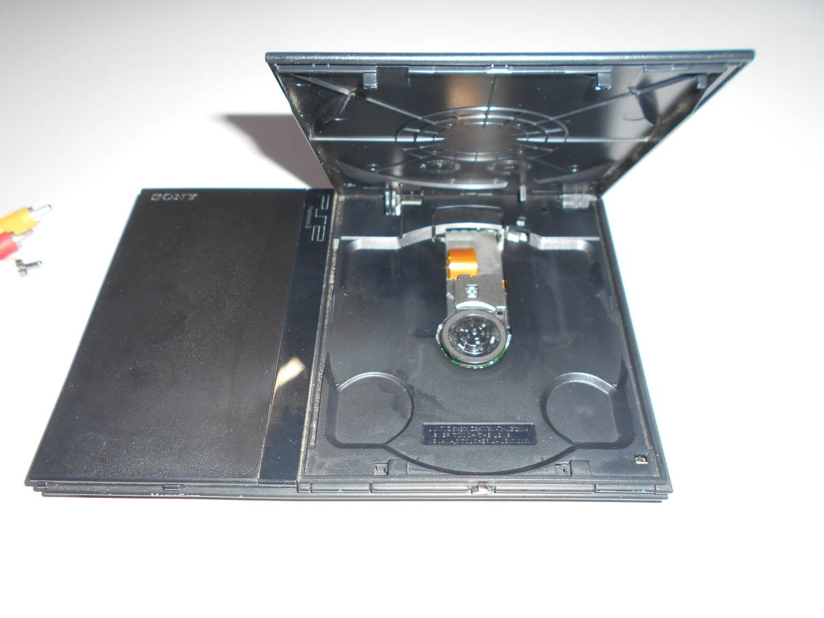 SONY ソニー SCPH-77000 本体 薄型 PS2 プレイステーション2 PlayStation2 【完動品,起動確認済み】コントローラー2個 PS2メモリーカード