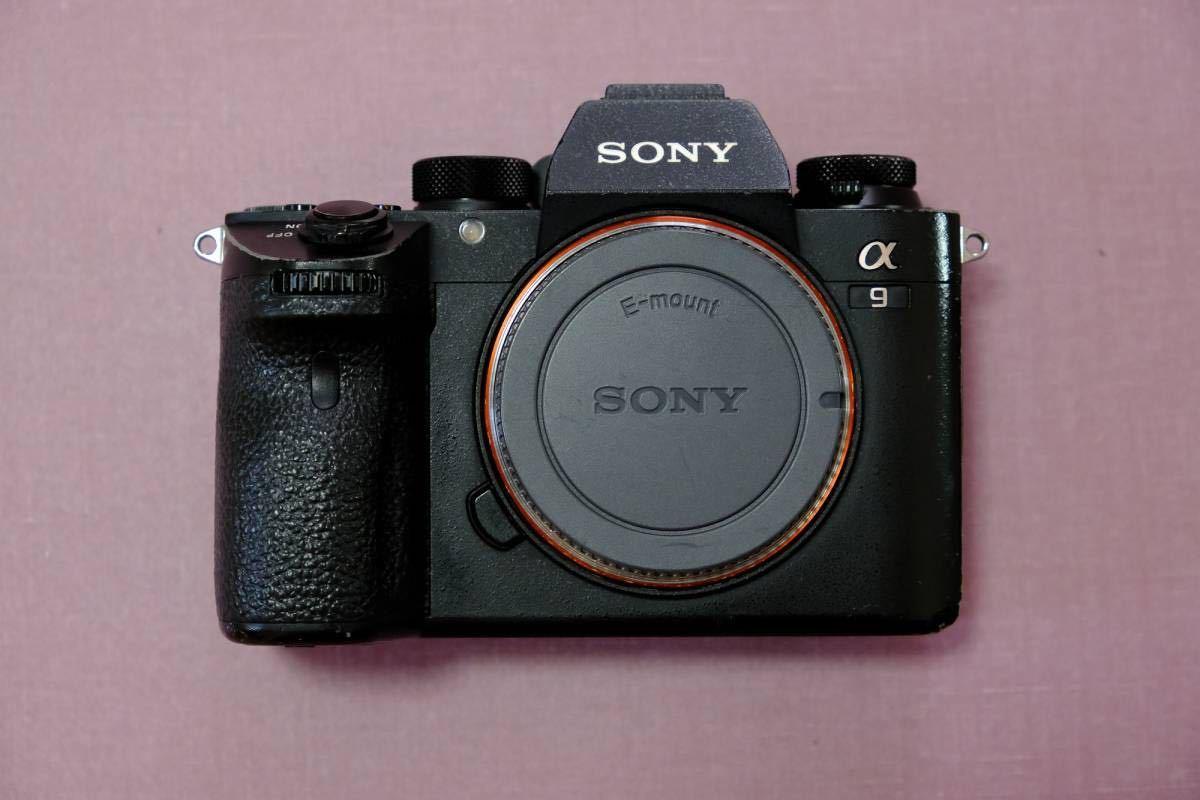 SONY α9 ILCE-9 ボディ フルサイズ ミラーレス 一眼カメラ/動作品・一部難あり