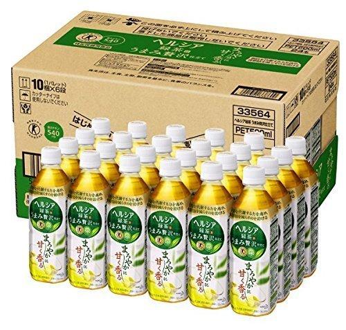 新品[トクホ] ヘルシア ヘルシア緑茶 うまみ贅沢仕立て 500ml×24本399N5O63_画像2