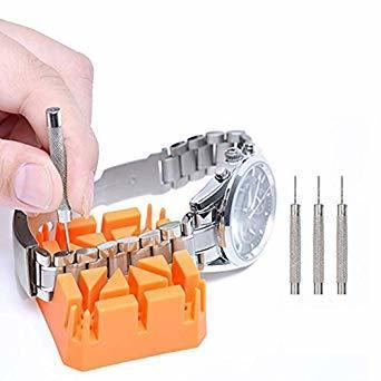 新品 腕時計修理セット (10点セット)腕時計ベルト調整 腕時計修理ツール 腕時計修理工具セット 時計バンド調整工具 腕YE25_画像6