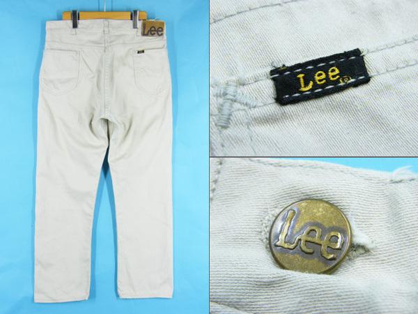 70's Lee リー 100-Z ウエスターナー コットンサテン パンツ #73068 ヴィンテージ ビンテージ アメカジ_画像2