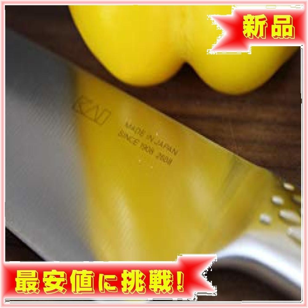 新品:三徳包丁 165mm 165mm 貝印 KAI 三徳包丁 関孫六 匠創 165mm 日本製 AB5156PSLV_画像7