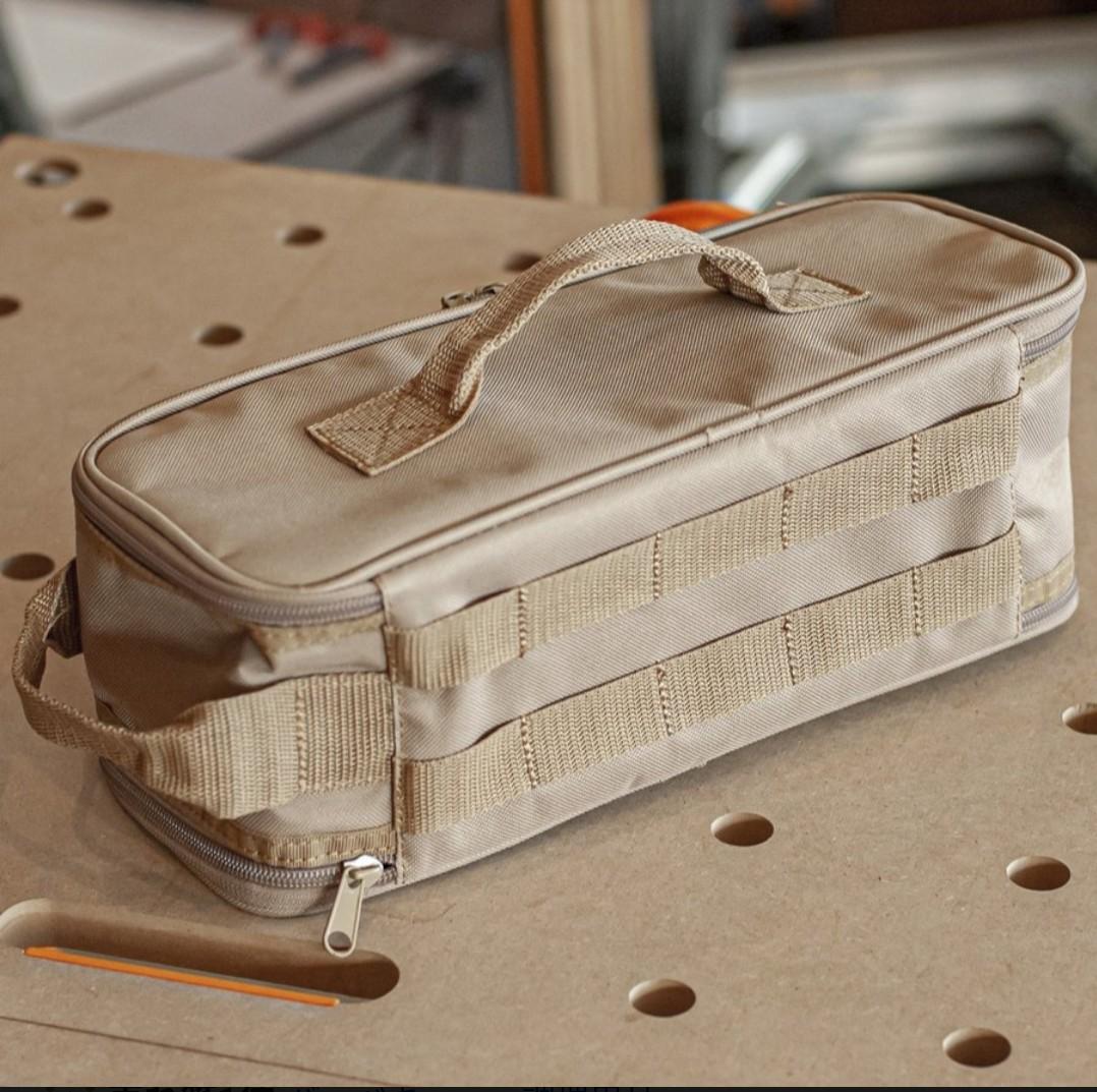 新品 WHATNOT マルチ収納ケース 防水加工 アウトドア ツールボックス MC-01-SB